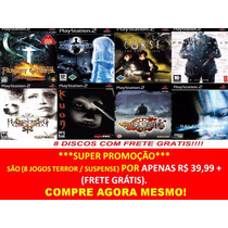 Curse: The Eye Of Isis Pt-br Play 2 (kit 8 Jogos Ps2 Terror