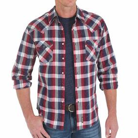 Camisa Wrangler Western Importada Eua - Tamanho G