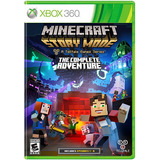 Minecraft Story Mode The Comple Adventure Para Xbox 360