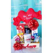 Cesta De Chocolate Para Presente Para Namoradas Romântico