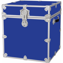 Caja Resistente Para Guardar Artesanias Color Azul Royal