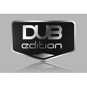 Par Emblema Dub Edition Aço Inox Puro!!