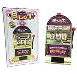 Alcancía Tragamonedas Slot Casino Tragaperras Triple 7