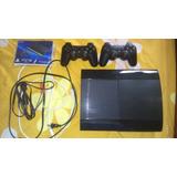 Ps3 Super Slim 250gb 8 Juegos Digitale Vendo O Cambio X Wiiu