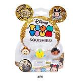 Tsum Tsum Squishies Blister X 4 Original Toybox