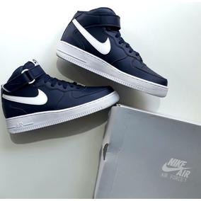 Tênis Sneakers Nike Air Force 1 Cano Alto Na Caixa Original
