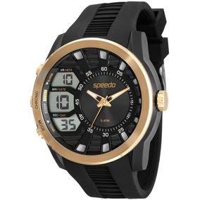 2a2536b6682 Relógio Masculino Anadigi Speedo 23446gpsvcu1 Preto - Relógios De ...