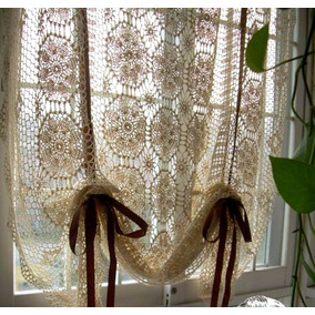 Cortinas Crochet, Vestidos, Manteles Tejidos A Mano, Sweater