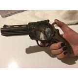 Revolver Rossi Calibre 38 Com Despertador Relogio Cabeceira