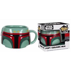 Funko Taza De Boba Fett Star Wars Ceramica Home Mug Nuevo!