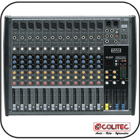 Mixer Mesa De Som 12 Canais Usb/sd Mark Audio Cmx12-usb