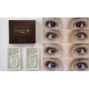 Pupilentes Hidrocor Fresh Go (dupe Solotica) Freshgo Natural