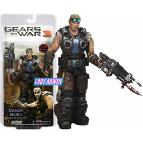 Gears Of War 3 Damon Baird Lancer Neca Marcus Dom Delta Squa