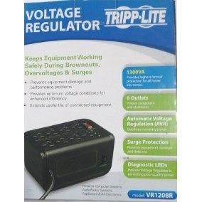 Regulador Voltaje Tripp-lite 1200 W 8 Tomas Tienda Y Punto