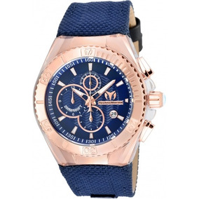 Reloj Technomarine Tm-115176 Nylon Azul Hombre