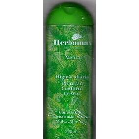 Sabonete Líquido Menta 200ml (herbamax)- 60 Unidades