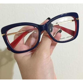 Armaçao De Oculos Marc Jacobs Branco - Óculos no Mercado Livre Brasil f9c36c668b