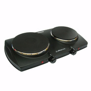 Anafe Eléctrico Ultracomb An-6600 Doble Hornalla 1500w