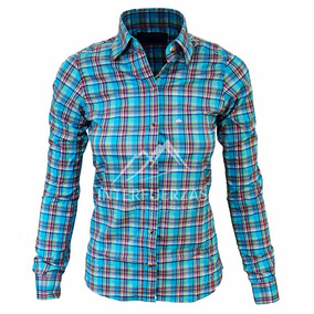 Camisa Montagne Mujer Escocesa