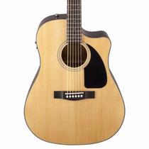 Fender Cd60 Ce Nt Electroacustica Corte Eq Fishman Y Estuche