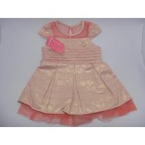 Lindo Vestido Infantil Carinhoso. Ideal P/ Festas/casamentos