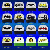 Gorras Heroes, Batman, Superman, Ironman, Capitan America...