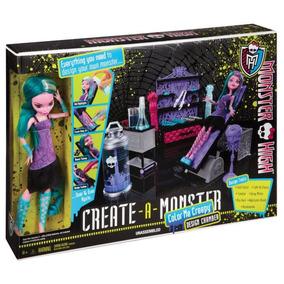 Laboratorio De Diseño Crea Tu Monstruo Monster High Color
