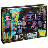 Laboratorio De Diseño Crea Tu Monstruo Monster High Color