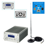 5w/15w Pllfm Transmisor Radio Emisora Estéreo Bluetooth