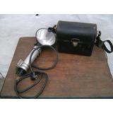 Antiguo Flash Multiblitz Aleman Con Bateria Fotografia