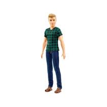 Boneco Ken Fashionistas 4 Checked Style - Mattel