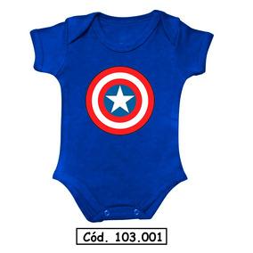 Body Bebê Capitão América Batman Superman Coisa Aquaman Nerd