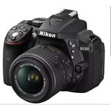 Camara Nikon D5300 24.2 Mp 18-55mm F/3.5-5.6g Vr Gps 900