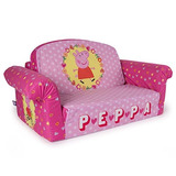 Sofa Marshmallow Peppa Pig Para Niños Pequeños 80 X 60 Cm