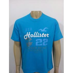 Camiseta Masculina Plus Size Hollister,xg-xg1-xg2-xg3-xg4...