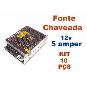 Kit C/ 10 Peças Fonte Chaveada 12v 5 Amperes - Colmeia