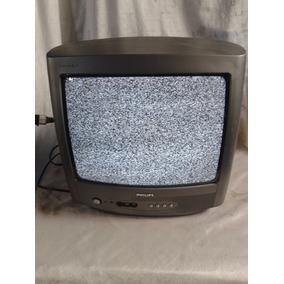 Tv Philips 14 Polegadas Funcionando Fvr