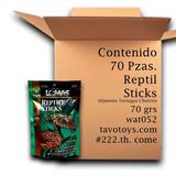 Alimento Tortuga Reptil Sticks Mayoreo Caja 70 Pzas Wardley
