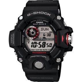 Casio G-shock Master Of G Rangeman Sensor Triple Negro/rojo