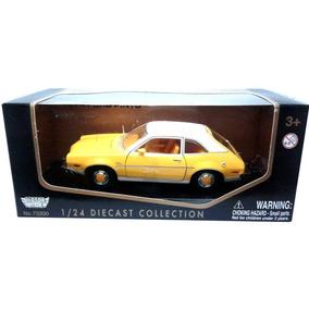 Miniatura Ford Pinto 1974 Amarelo Motormax 1/24