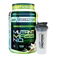 Mutant Mass 1,5 Kg + Vaso Star Nutrition Ganador De Peso