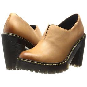 Zapatos Dr Martens Cordelia De Tacon Cafe Para Dama