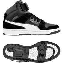 zapatillas puma botitas hombre blancas