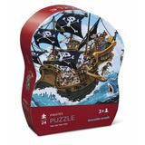 Puzzle Crocodile Creek- Piratas - 24 Piezas- Giro Didactico