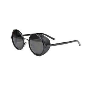 Óculos Sol Redondo Circular Steampunk Vintage Retrô 35%off