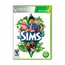 The Sims 3 Xbox 360 Novo Lacrado + Pôster Brinde