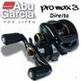 Carretilha Abu Garcia Pro Max3 Original - Dir + Artificial