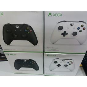 Controle Xbox One S Entrada P2 3,5mm Fone Microsoft Na Caixa
