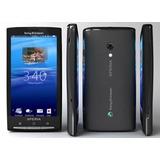Smartphone Sony Ericsson Xperia X10 X10i Preto Novo Vitrine