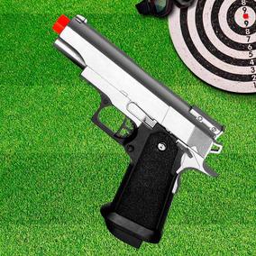 Pistola Airsoft Esportiva 6,0mm, Galaxy G10s Full Metal